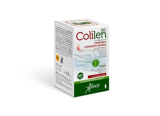 Συσκευασία προϊόντος Colilen IBS για θεραπεία ευερέσθιτου εντέρου