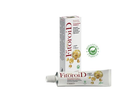 Συσκευασία του προϊόντος NeoFitoroid για τις αιμορροΐδες
